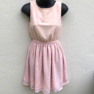 Lola Pink + Dots Dress